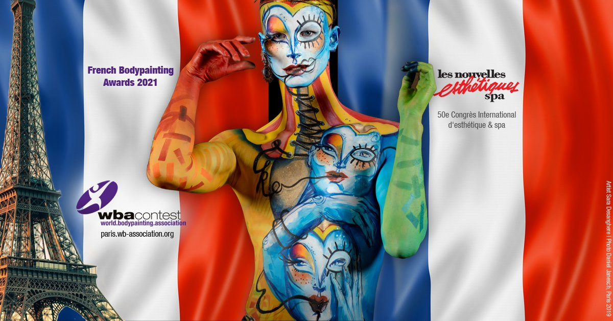 French Bodypainting Awards 2020